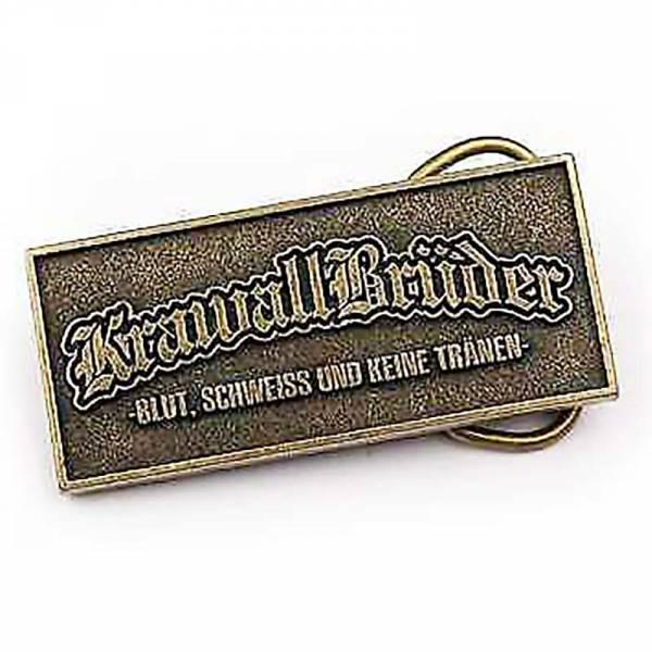 KrawallBrüder - Blut Schweiss und keine Tränen, Gürtelschnalle