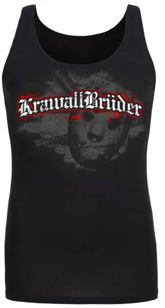 KrawallBrüder - Jason, Girls Tank-Top [schwarz]