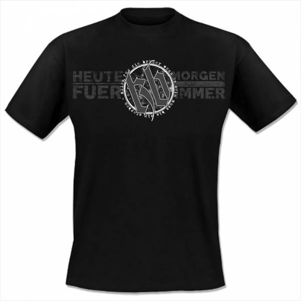 KrawallBrüder - Heute Morgen für immer, T-Shirt [schwarz]