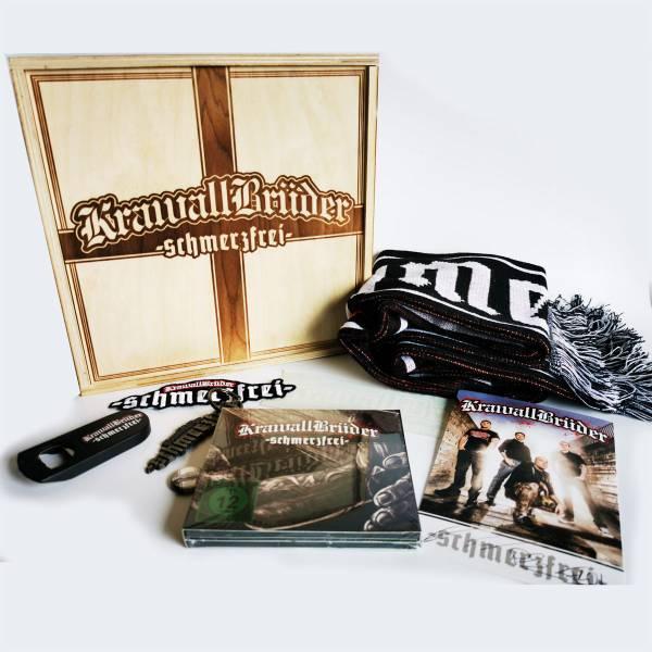 KrawallBrüder - Schmerzfrei Holzbox