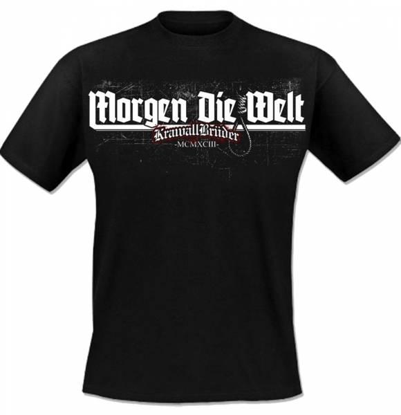 KrawallBrüder - Morgen die Welt, T-Shirt [schwarz]