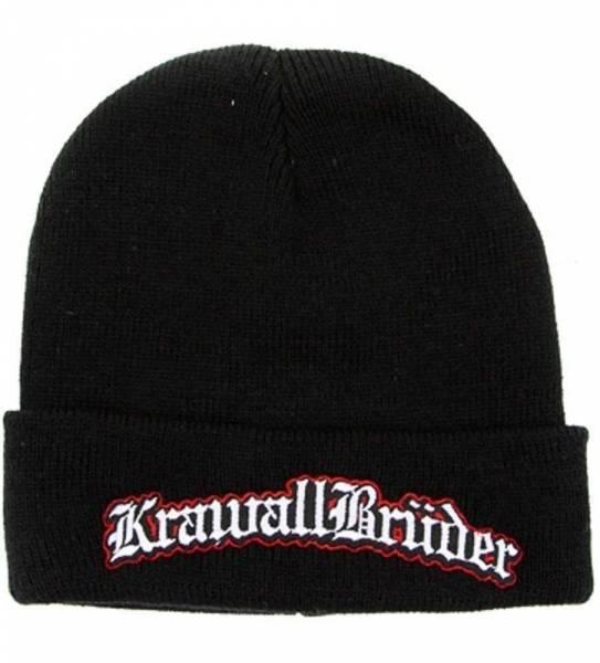 KrawallBrüder - Logo, Strickmütze [schwarz]
