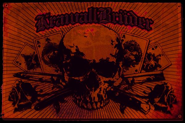 KrawallBrüder - Blut Schweiss & Keine Tränen, Fahne