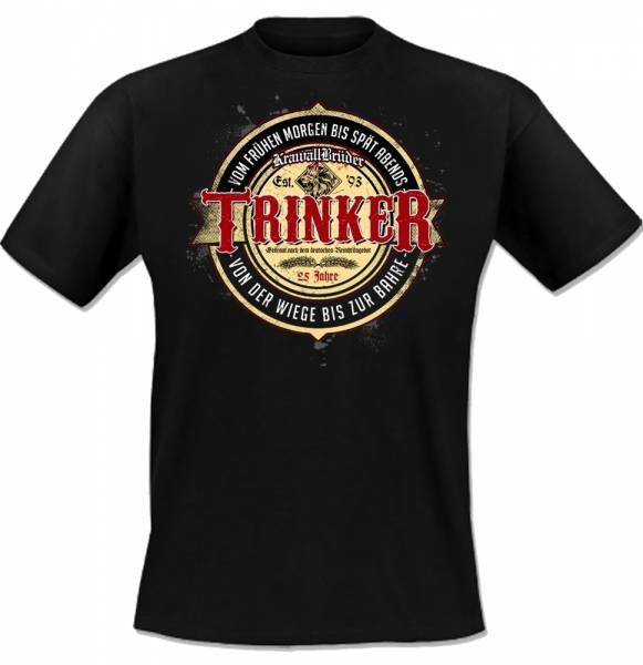 KrawallBrüder - Trinker, T-Shirt [schwarz]