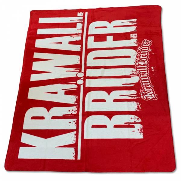 KrawallBrüder - Logo rot, Decke [sehr schwere Qualität]