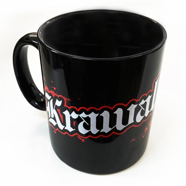 KrawallBrüder - Logo, Kaffeetasse
