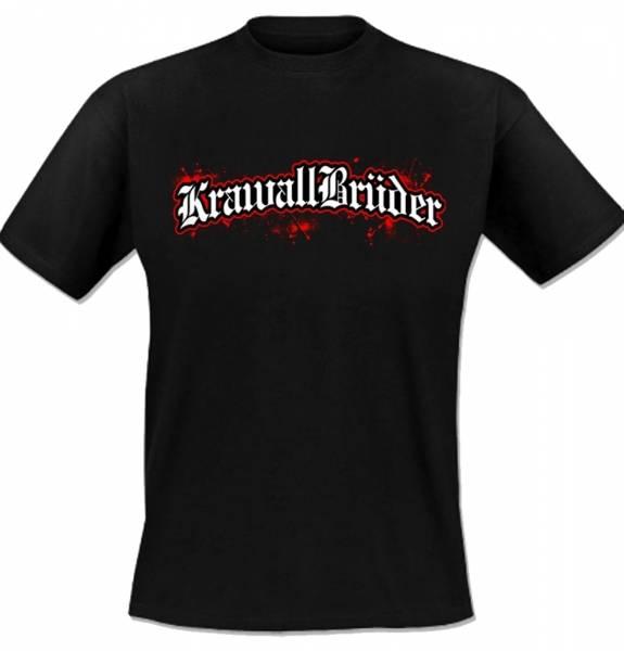 KrawallBrüder - Logo, T-Shirt [schwarz]