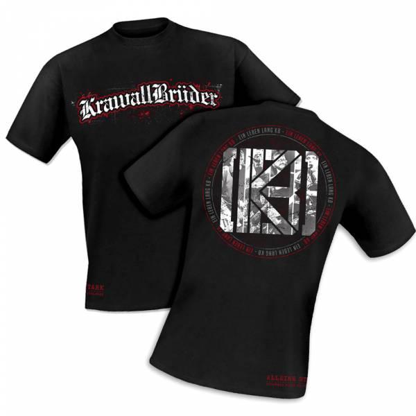 KrawallBrüder - Alleine stark - Zusammen nicht zu schlagen, T-Shirt [schwarz]