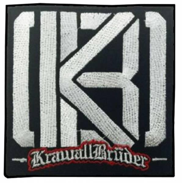 KrawallBrüder - Logo neu, Aufnäher