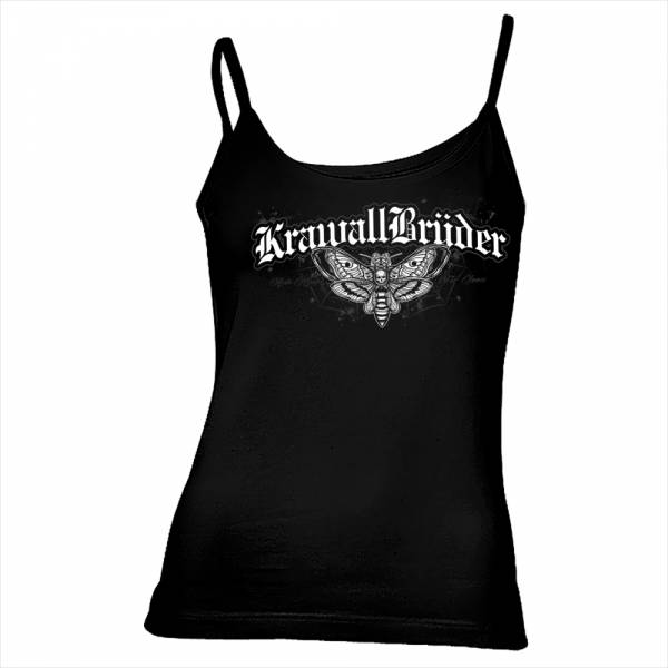 KrawallBrüder - Atrop, Girl Träger-Top [schwarz]