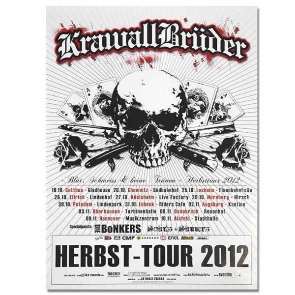 KrawallBrüder - Herbst Tour 2012, Poster