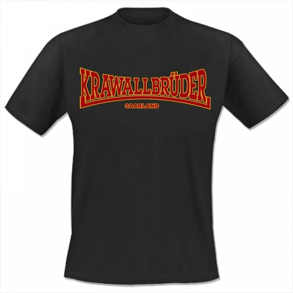 KrawallBrüder - Saarland, T-Shirt [anthrazit]