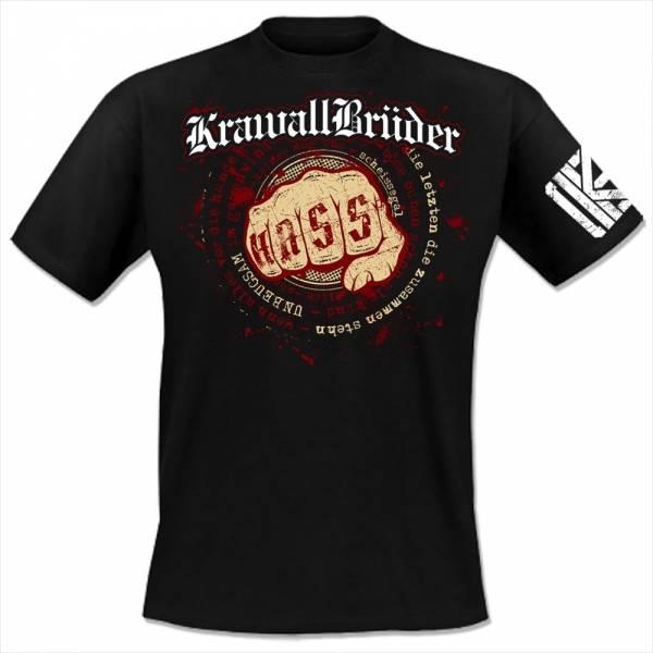 KrawallBrüder - Unbeugsam, T-Shirt [schwarz]